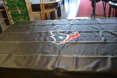 Texan and Cowboys dust covers